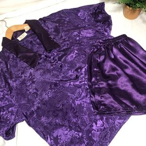 Vintage Victoria's Secret 2 piece pajama set